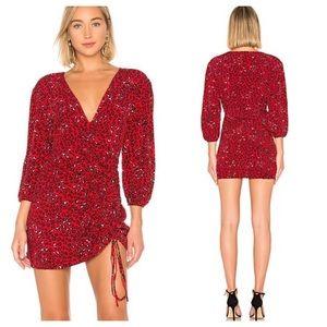Lovers + Friends Hayden Leopard Mini dress